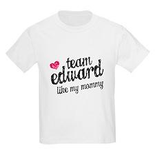 Team Edward Mommy T-Shirt