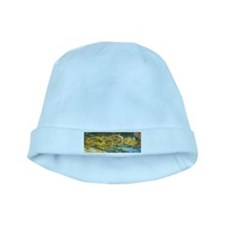 Van Gogh Four Cut Sunflowers baby hat