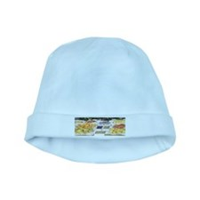 Fruit Stand by Caillebotte baby hat