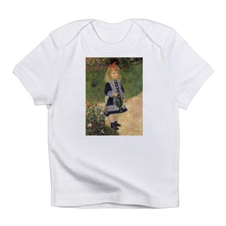 Renoir Girl w Watering Can Infant T-Shirt