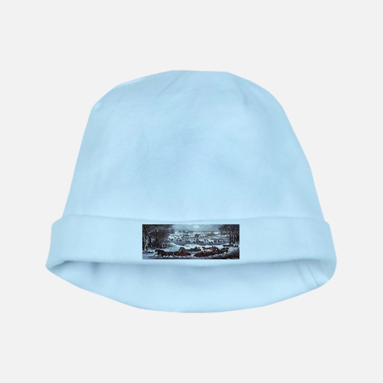 Central Park in Winter baby hat