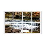 Small Waterfall Window 22x14 Wall Peel