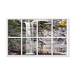 Waterfall Window 22x14 Wall Peel