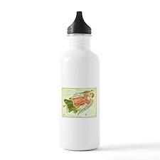 Vintage Celestial Zodiac, Virgo Water Bottle