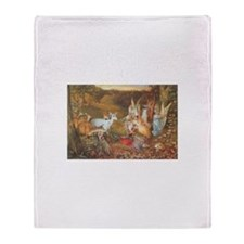 Enchanted Forest by Fitzgerald Throw Blanket