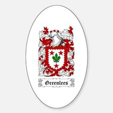 Greenlees Sticker (Oval)