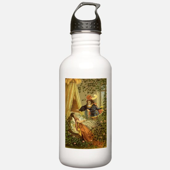 Vintage Sleeping Beauty Water Bottle