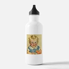 Vintage Cute Baby Water Bottle