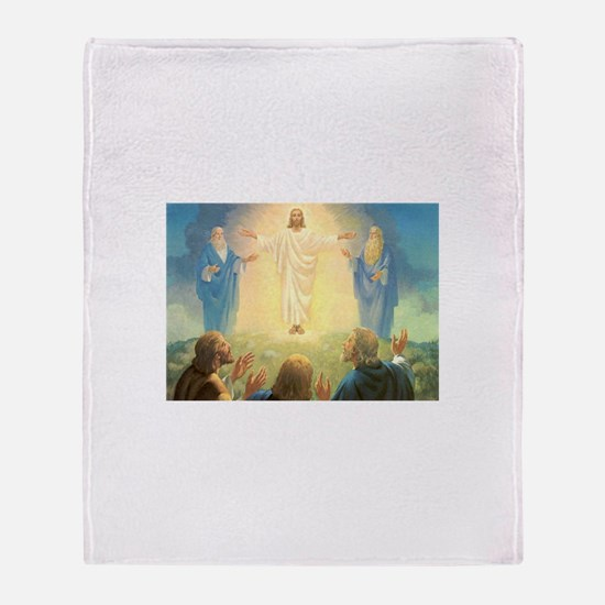 Vintage Jesus Christ Throw Blanket