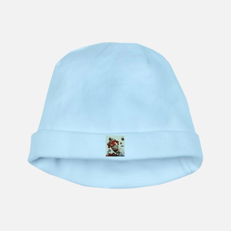 Vintage Sports Football baby hat