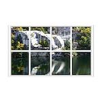 Rocky Reflection Window 38.5 x 24.5 Wall Peel