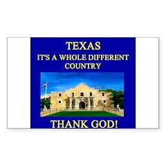 i love texas texans Decal