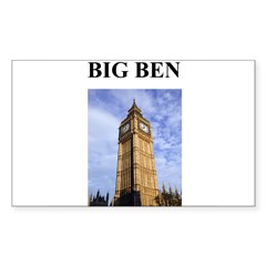 big ben london england gifts Decal