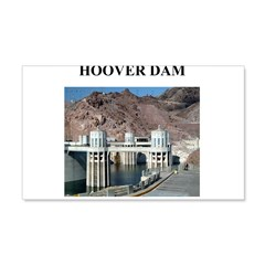 hoover dam gifts and t-shirts 22x14 Wall Peel