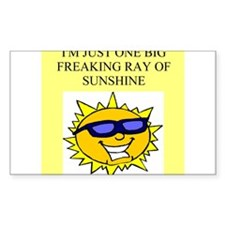big ray of sunshine Decal