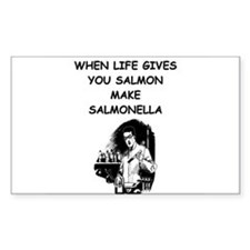 salmonella salmon Decal
