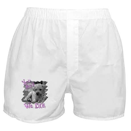 You Buy We Die Boxer Shorts