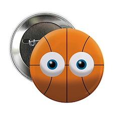 """Baketball Stare 2.25"""" Button"""