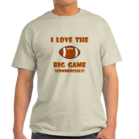 Big Game Commercials! Light T-Shirt