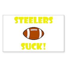 Steelers Suck! Decal
