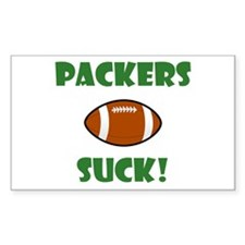 Packers Suck! Decal