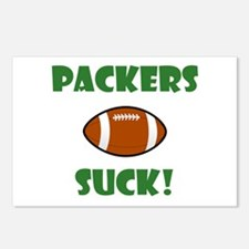 Packers Suck! Postcards (Package of 8)
