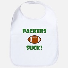 Packers Suck! Bib