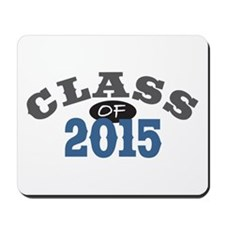 Class Of 2015 Blue Mousepad