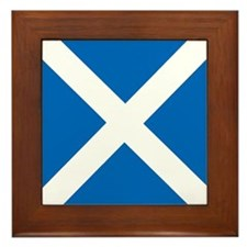 Flag of Scotland Framed Tile