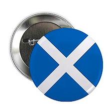 "Flag of Scotland 2.25"" Button"