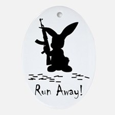 Run Away! Ornament (Oval)