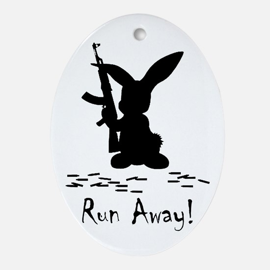 Run Away! Ornament (Oval)