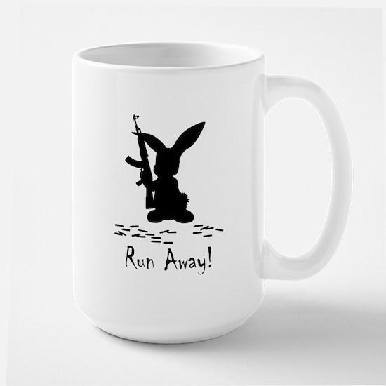 Run Away! Large Mug