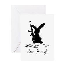 Run Away! Greeting Card