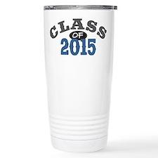Class Of 2015 Blue Travel Coffee Mug