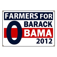 Farmers for Obama 2012 Banner