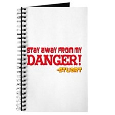 Don't Mess With My Danger Mad Journal