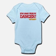 Don't Mess With My Danger Mad Infant Bodysuit