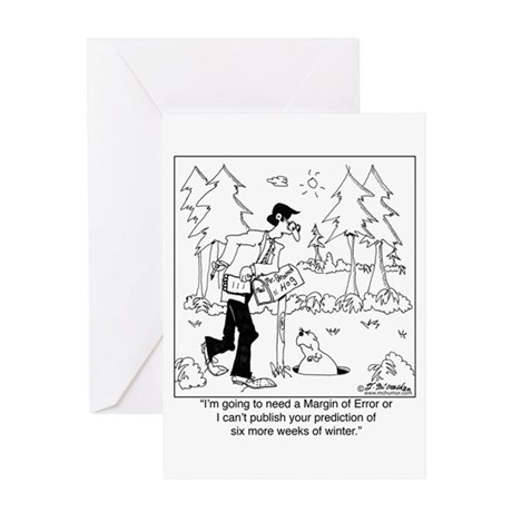 What's your Margin of Error? Greeting Card