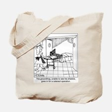 The groundhog has cataracts Tote Bag