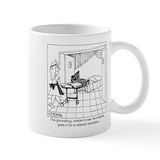 The groundhog has cataracts Mug