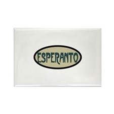 Esperanto Rectangle Magnet (10 pack)