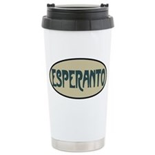Esperanto Travel Mug
