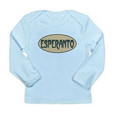 Esperanto Long Sleeve Infant T-Shirt