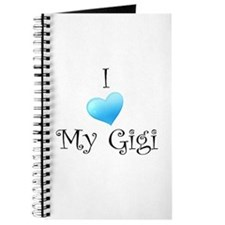 I Love Gigi Journal