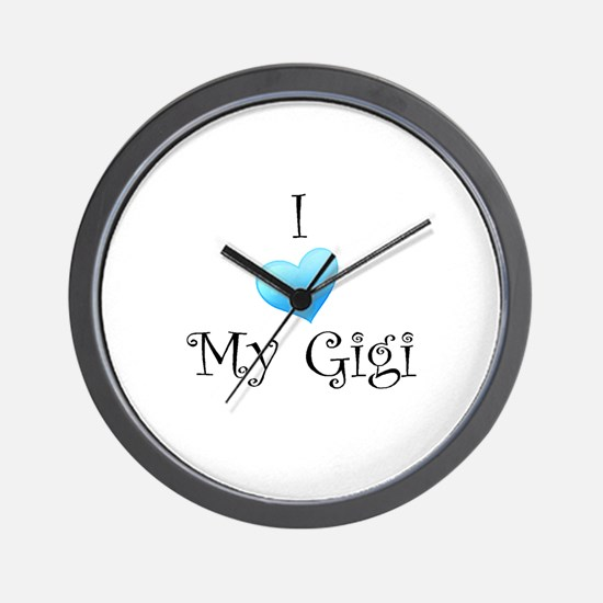 I Love Gigi Wall Clock