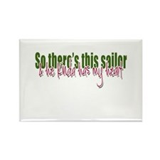 So there's this Sailor Rectangle Magnet