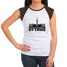 Ottawa Skyline Women's Cap Sleeve T-Shirt
