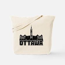 Ottawa Skyline Tote Bag