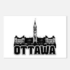 Ottawa Skyline Postcards (Package of 8)